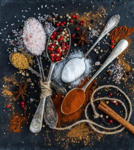 le spezie nell'alimentazione cinese