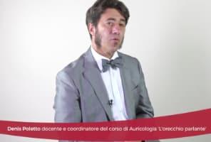 """Denis Poletto, docente e coordinatore corso di riflessologia auricolare """"L'orecchio parlante"""""""