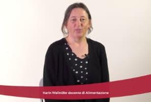 Karin Wallnöfer, docente e coordinatore del corso di Alimentazione
